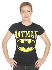 Batman Girlie Shirt Vintage Logo