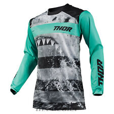 2019 Thor Impulsi Savage Jaws Shark Jersey,Jersey Menta Mx Motocross Cross