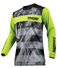 2019 Thor Impulsi Savage Big Catalizzatore Jersey,Jersey Verde Mx Motocross