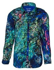 """""""Black Flower"""" Steve Luongo Designs Limited Edition Mens Shirt Only 20 per Size"""