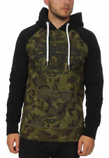 Superdry Sweater Herren SWEAT SHIRT SHOP CAMO RAGLAN H Camo Black