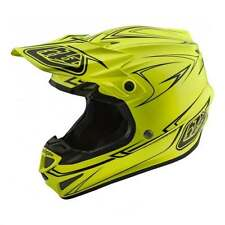 Troy Lee 2018 Adulti SE4 Mips Gessato Mx Motocross Enduro Casco - Giallo
