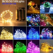 2M/3M/5M/10M LED Copper Wire Fairy String Light Christmas Wedding Party Decor
