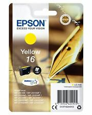 Epson Singlepack Yellow 16 DURABrite Ultra Ink 3.1ml Giallo 165pagine cartuccia
