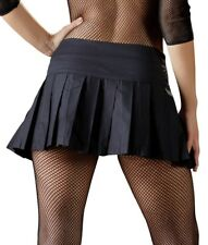 Minigonna A Pieghe Nero Sexy Pieghe Skirt Pieghe Mini Roccia Cottelli Collection
