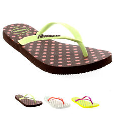 Damen Haviannas Slim Fresh Pop Up Strand Urlaub Flip Flops Sandalen EU 33-42
