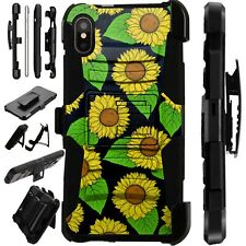 Lux-Guard For iPhone 6/7/8 PLUS/X/XR/XS Max Phone Case Cover SUNFLOWERS