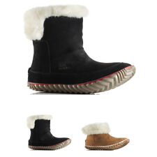 Womens Sorel Out N About Bootie Leather Waterproof Snow Rain Ankle Boot UK 3-9