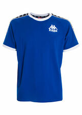 77543 kappa authentic t-shirt bordi contrasto uomo men's with contrasting edges