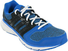 Adidas Questar Mens Lace Up Blue Mesh Running Sports Fitness Trainers Shoes