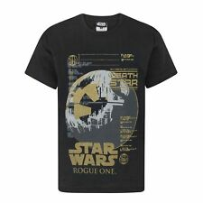 Star Wars - Camiseta de manga corta oficial modelo Rogue One Metallic (NS362)