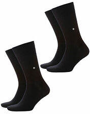 Burlington 4 Pares Calcetines de Hombre Everyday,Onesize 40-46 (6.5-11 Gb) 21045