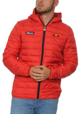 Ellesse Giacca Uomo Lompardy Imbottito Giacca Rosso Scarlet
