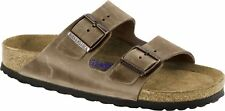 Birkenstock Arizona Oiled Leather Soft-Footbed Men Slides slippers sandals - NEW