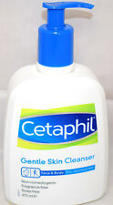 Cetaphil Gentle Skin Cleanser Sensitive - Dry Face Body Wash 473ml Pick 1,2 or 3