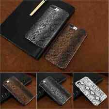 Snake Skin Leather Case Protect Back Hard Cover For iPhone X Xr Xs MAX 6 6s Plus