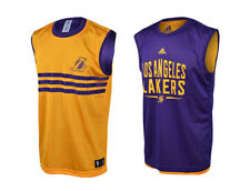ADIDAS NBA LOS ANGELES LAKERS [GR. 128 / 164] WENDESHIRT TRIKOT S29767 TANK NEU