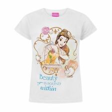Disney - Camiseta de la Bella y la Bestia modelo Beauty Is Found Within (NS4184)