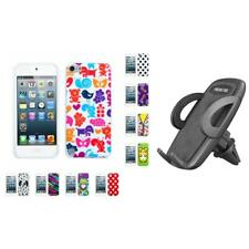For Apple iPod Touch 5th 6th Gen TPU Design Case Phone Cover + Mount
