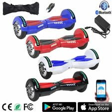 "6.5"" LED Eléctrico Patinete Scooter Hoverboard Bluetooth Skate AE"
