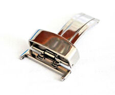 Stainless Steel Deployment Clasp Single Throw Suitable Tag Heuer Omega Breitling