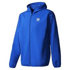 adidas ORIGINALS NYC HERRINGBONE WINDBREAKER MEN'S HOODIE JACKET COAT RARE NEW