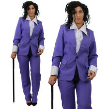 ADULTS PRINCE COSTUME 80'S 90'S PURPLE RAIN MUSIC 1980S POP STAR FANCY DRESS