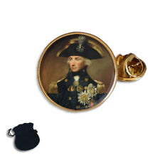 ADMIRAL LORD NELSON  ENAMEL LAPEL PIN BADGE GIFT