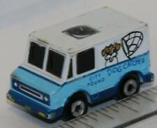 Micro Machines PRIVATE EYES FORD DELIVERY VAN CITY POUND DOG CATCHER