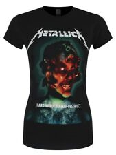 Metallica T-shirt Hardwired Album Women's Black