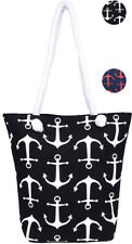 Küstenluder MISHA Sailor Anchor ANKER Nautical Canvas TASCHE Rockabilly