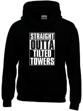 """Boys/Girls """"STRAIGHT OUTTA TILTED TOWERS"""" Hoodie 9 Sizes Option to Add Name"""