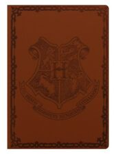 Harry Potter Notebook Hogwarts Flexi Cover A5 Brown