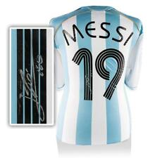 WAREHOUSE SECONDS Lionel Messi Official Back Signed Argentina 2005-07 Home Shirt