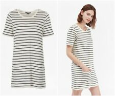 FRENCH CONNECTION RRP £55 Normandy Stripe Short Sleeve T-Shirt Dress