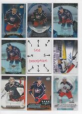Columbus Blue Jackets #2 - Serial #'d Rookie- JERSEY - AUTO - U-PICK  SEE LOT #1