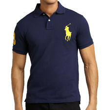 Men's Ralph Lauren Polo T Shirt 100% cotton Short Sleeve Polo