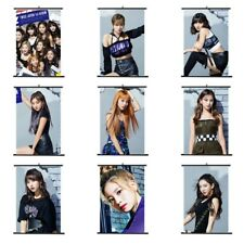 Kpop Twice Yes ou Yes Album Suspendu Peinture Art Mural Scroll Affiche Momo