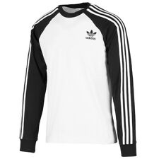Adidas 3-stripes Camiseta Manga Larga Hombre Originals Camisa Jersey DH5793