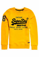 Superdry Sweater Herren SWEAT SHIRT STORE CREW Academy Yellow