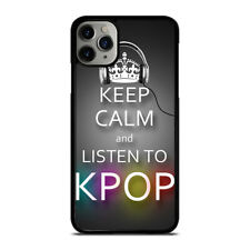 KEEP CALM AND LISTEN KPOP iPhone 5/5S/SE 6/6S 7/8 Plus X/XS Max XR Case
