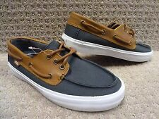 Vans OTW Mens Chauffeur SF CL Dark Navy Brown Boat Shoes size ... 0fec62539
