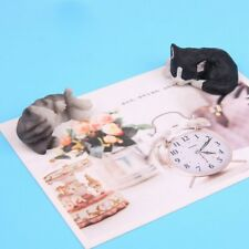 New Magnetic Refrigerator Resin 3D Stickers Lazy Cat Bedroom Fridge Decal Decor