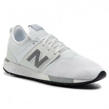SNEAKER UOMO NEW BALANCE 247 LIFESTYLE MESH SYNTHETIC SPACE WHITE