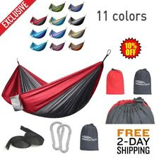 Camping Hammock Outdoor Hiking Travel Tent Bed Double person hanging mosquito