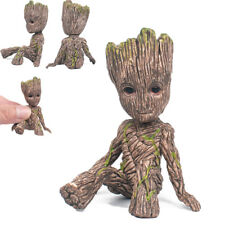 Guardians of The Galaxy Baby Groot Figure Flowerpot Pen Pot Toy Gifts 6CM SD