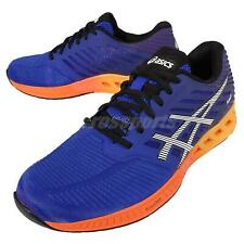 Asics FuzeX Navy Orange Mens Cushion Running Shoes Trainers Sneakers T639N-4350