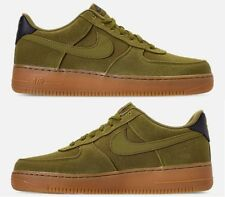 NIKE AIR FORCE 1 '07 LV8 STYLE CASUAL MEN's CAMPER GREEN - GUM MED BROWN NEW SZ