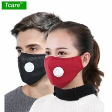 Anti Allergy Dust Mask Washable Pollution Nose Mouth Masks Asthma Travel Cycling