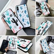 Cactus Cute Pattern PC Phone Case for iPhone X/XS/XR/XSMAX/6/6Plus/7/8/7Plus